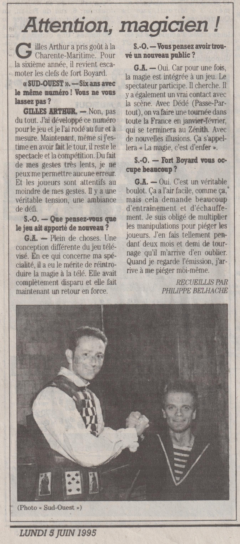 Sud Ouest Juin 1995