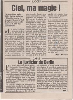 Le Parisien Juin 1994