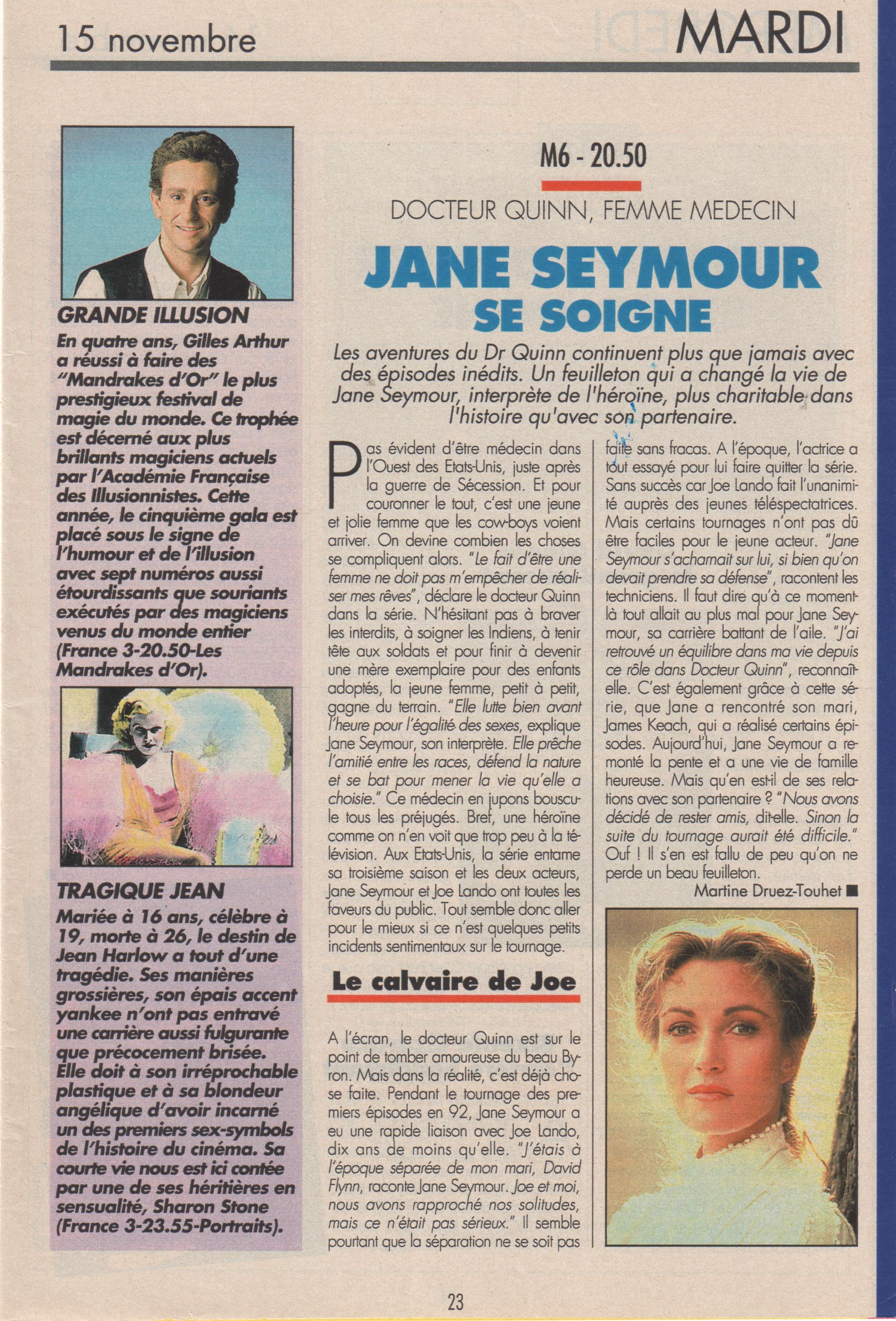 Télé Magazine novembre 1994