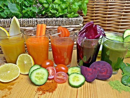 ירקות ופירות בכל צבעי הקשת - משמעות הצבעים