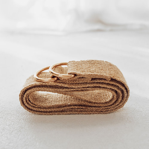 Mobeco Hemp Yoga Mat Strap