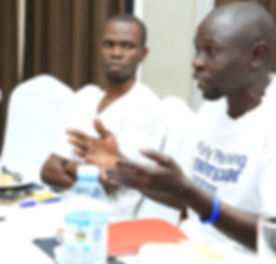CHW Goeffrey share his insights on the FPBC progra
