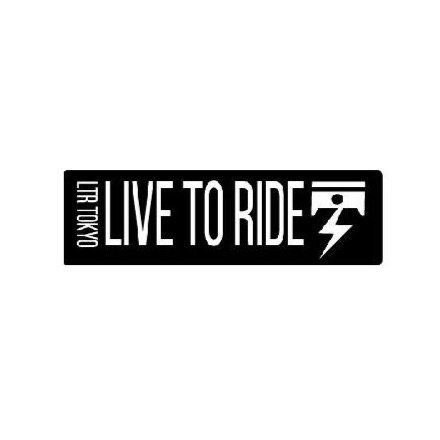 LIVE TO RIDE ステッカー