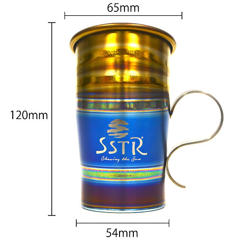 チタンカップ ・インディゴ(SSTRロゴ)