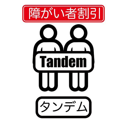 タンデム【障がい者割引】