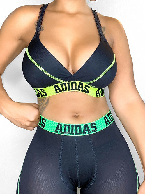 Adidas Bra and Biker set