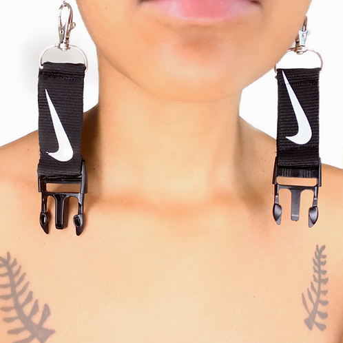 """CUT THE CHECK"" EARRINGS"