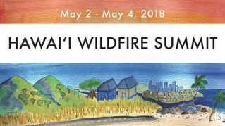 LHWRP sharing our mana'o at the Hawai'i Wildfire Summit