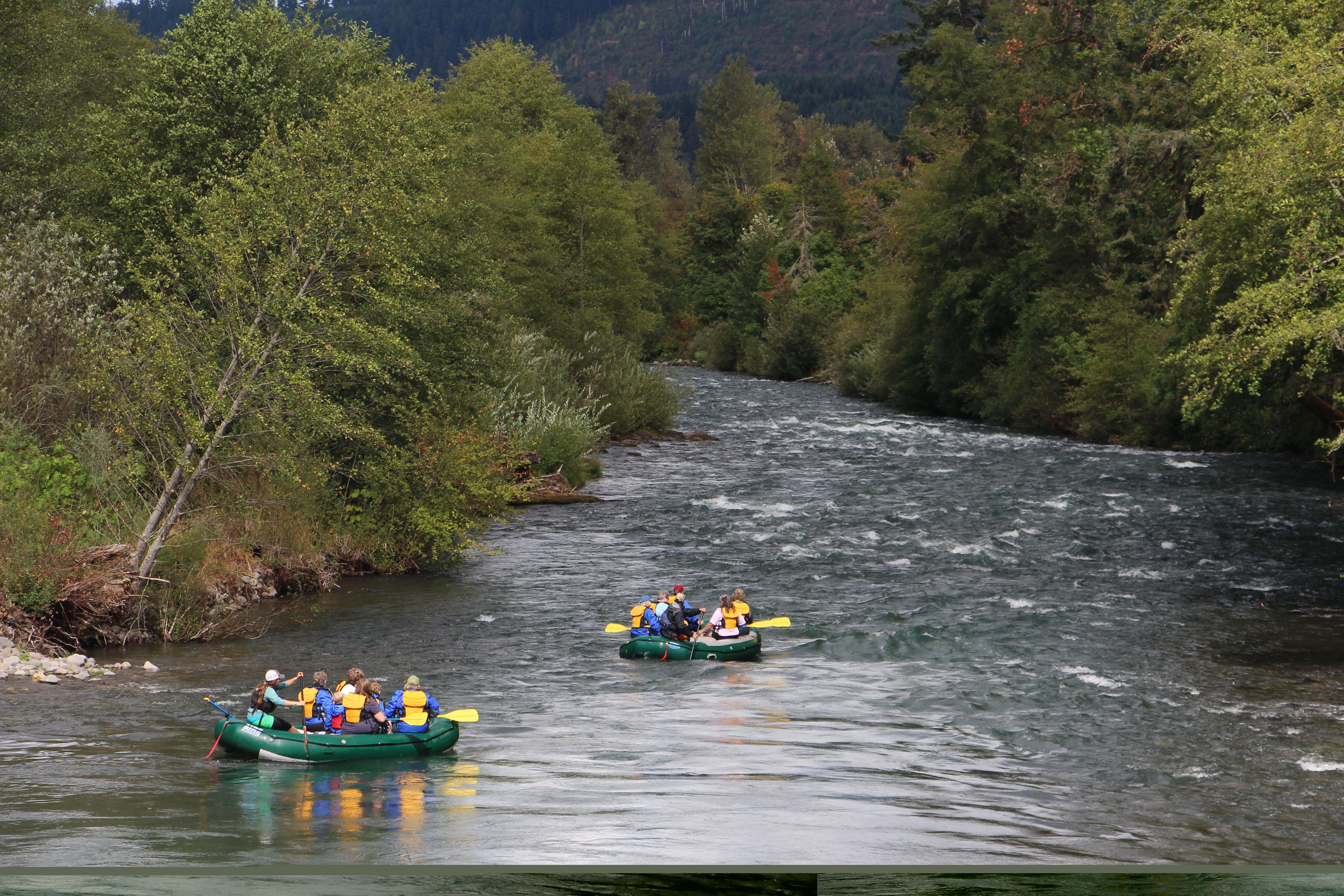Family Float Rafting