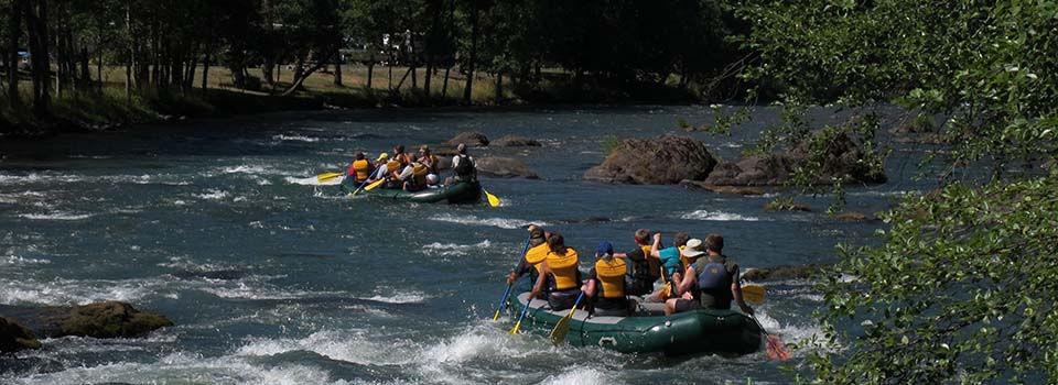Upper Middle Fork Willamette Rafting