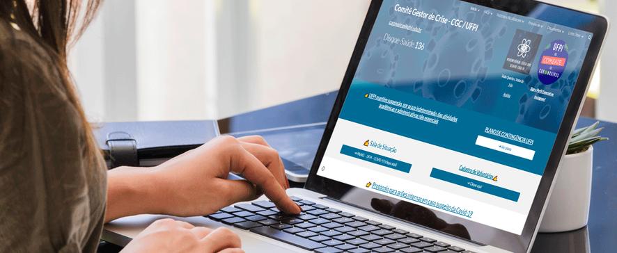 UFPI se destaca com plataforma digital de combate a covid-19