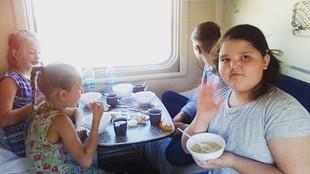 Ехать на поезде в Сочи, конечно небыстро