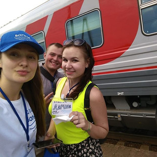 Проводили ребят в Москву) #мояволна #дюц
