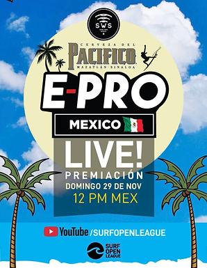 PACIFICO E-PRO MEXICO LIVE AWARDS CEREMONY TODAY!