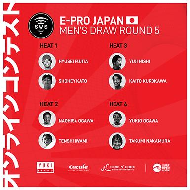 MEET THE QUARTER FINALISTS E-PRO JAPAN!
