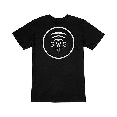SWS BLACK LOGO TEE