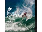 THE OFFICIAL RESULTS OF MEN'S QUARTERFINALS OF FIREWIRE E-PRO GLOBAL FINAL