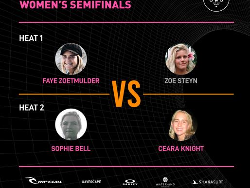 TOP 4 WOMEN DIRECT TO SEMI-FINALS
