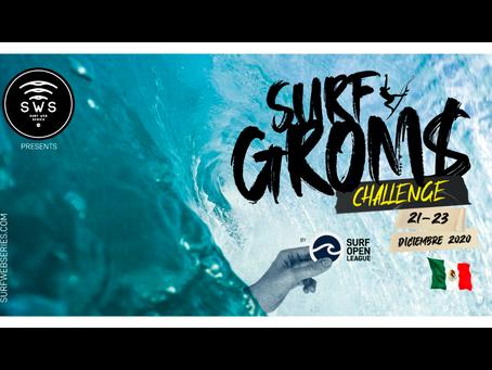 SURF GROMS CHALLENGE - MÉXICO, NUEVO EVENTO CONFIRMADO POR @SURFWEBSERIES!