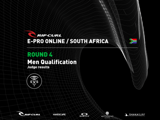 RipCurl EPro ZAF ROUND 4 MEN RESULTS