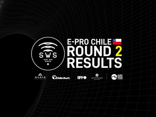 E-PRO CHILE ROUND 2 REPECHAGE RESULTS