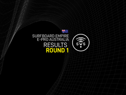 HERE ARE THE OFFICIAL RESULTS OF THE ROUND 1 OF SURFBOARD EMPIRE #EPROAUSTRALIA