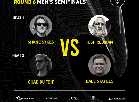 RIP CURL E-PRO SEMI-FINAL MEN'S HEAT CONFIRMED