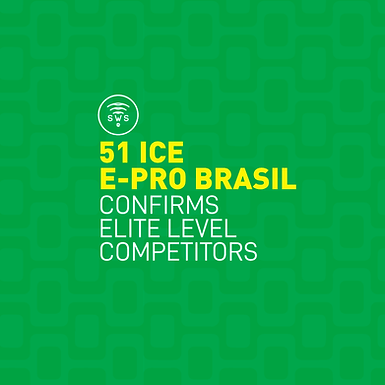 51 ICE E-PRO BRASIL CONFIRMS ELITE LEVEL COMPETITORS