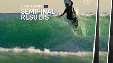THE OFFICIAL RESULTS OF THE SEMIFINALS OF E-PRO EUROPE
