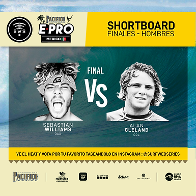 FINAL HEAT DETERMINED: SEBASTIAN WILLIAMS VS ALAN CLELAND BATTLE FOR CHAMPIONSHIP OF MEXICO