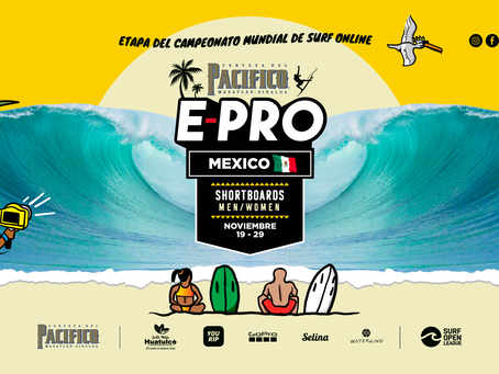 SURF OPEN LEAGUE PRESENTA PACIFICO E-PRO, LA QUINTA ETAPA DEL CAMPEONATO MUNDIAL DE SURF ONLINE
