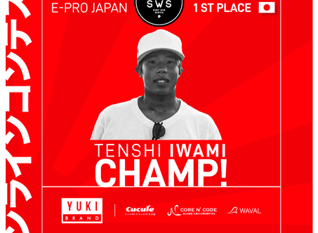 AND THE WINNER OF THE E-PRO JAPAN IS...