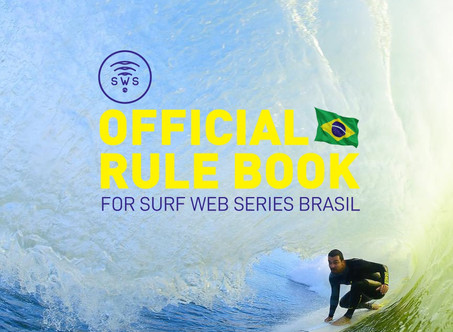 OFFICIAL RULE BOOK FOR SURF WEB SERIES—BRASIL
