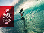 THE OFFICIAL RESULTS OF THE QUARTERFINALS OF FIREWIRE E-PRO USA