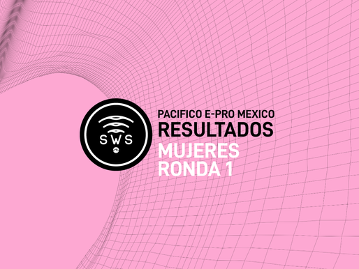 HERE ARE THE OFFICIAL RESULTS OF THE OPENING R1 OF WOMEN'S PRO AT #PACIFICOEPROMEXICO