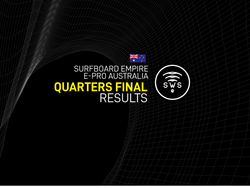 HERE ARE THE OFFICIAL RESULTS OF THE QUARTERFINALS / ROUND 5 OF SURFBOARD EMPIRE #EPROAUSTRALIA