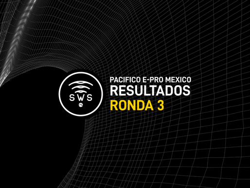 HERE ARE THE OFFICIAL RESULTS OF MEN'S ROUND 3 PACIFICO EPRO MEXICO