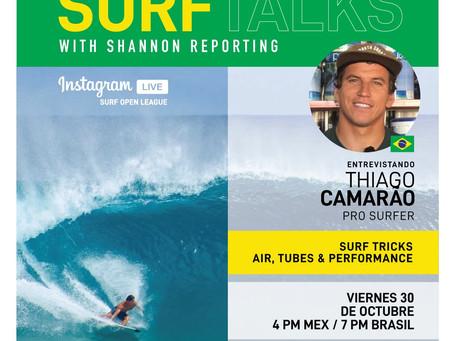 SURF TALKS: THIAGO CAMÃRAO, EL GRAN SURFISTA BRASILEÑO AHORA EN SWS