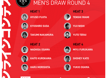 GET READY FOR THE E-PRO JAPAN ROUND 4 HEATDRAW