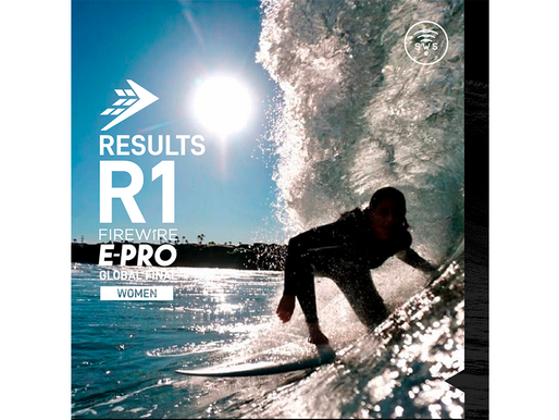 THE OFFICIAL RESULTS OF ROUND 1 WOMEN'S OF FIREWIRE E-PRO GLOBAL FINAL