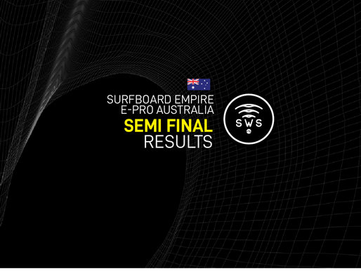 HERE ARE THE OFFICIAL RESULTS OF THE SEMIFINALS / ROUND 6 OF SURFBOARD EMPIRE #EPROAUSTRALIA