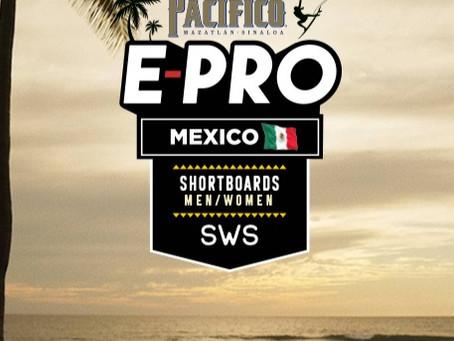 ACOMPÁÑANOS DESDE CASA AL PACÍFICO E-PRO MÉXICO DONDE PODRÁS VER A LOS MEJORES SURFISTAS MEXICANOS
