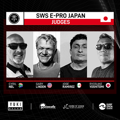 INTRODUCING THE JUDGES OF THE INAUGURAL E-PRO JAPAN