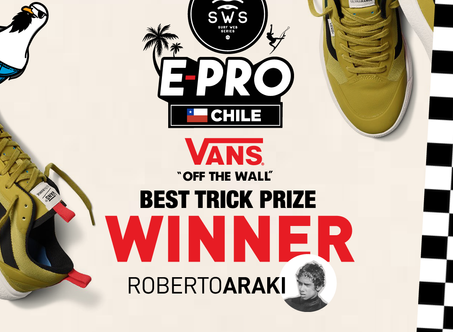WINNER OF VANS BEST TRICK !