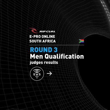 RipCurl EPro ZAF ROUND 3 MEN RESULTS.