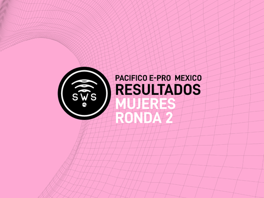 HERE ARE THE OFFICIAL RESULTS OF THE OPENING R2 OF WOMEN'S PRO AT #PACIFICOEPROMEXICO