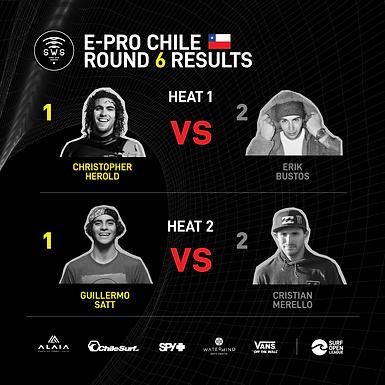 E-PRO CHILE SEMIFINALS RESULTS
