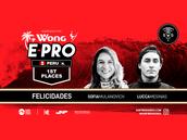 LUCCA MESINAS Y SOFIA MULANOVICH RECLAMAN VICTORIAS DEL WONG E-PRO PERÚ