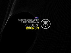 HERE ARE THE OFFICIAL RESULTS OF THE ROUND 3 OF SURFBOARD EMPIRE #EPROAUSTRALIA