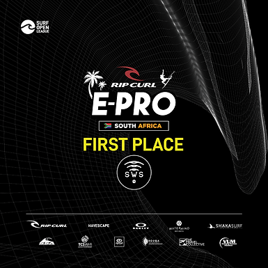 Congratulations to the 2 categories for having the first place in Rip curl E-pro
